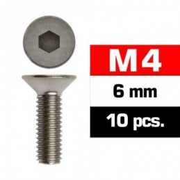 TORNILLOS M4x6mm AVELLANADO...