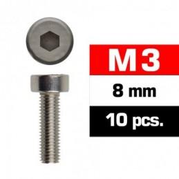 TORNILLOS M3x8mm CILINDRICO...