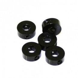PRISIONEROS 4 mm NEGRO (5u.)