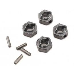 Wheel Hex Metal 12mm (4)